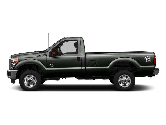 Magnetic Metallic 2016 Ford Super Duty F-350 DRW Pictures Super Duty F-350 DRW Regular Cab XLT 2WD photos side view