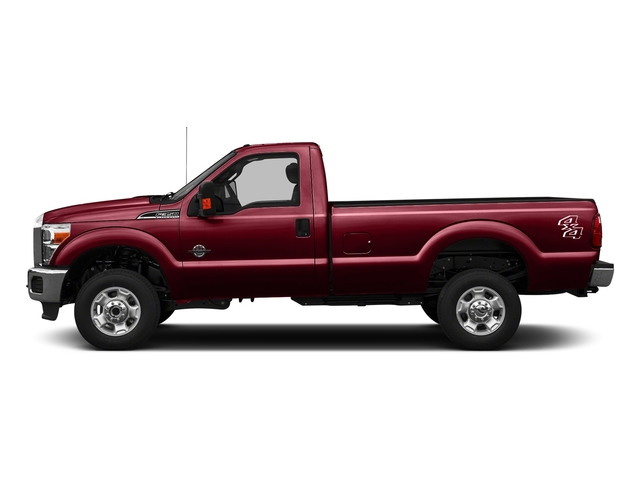 Ruby Red Metallic Tinted Clearcoat 2016 Ford Super Duty F-350 DRW Pictures Super Duty F-350 DRW Regular Cab XLT 2WD photos side view