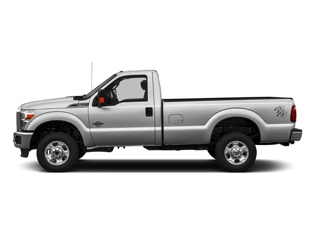 Ingot Silver Metallic 2016 Ford Super Duty F-350 DRW Pictures Super Duty F-350 DRW Regular Cab XLT 2WD photos side view