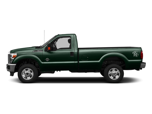 Green Gem Metallic 2016 Ford Super Duty F-350 DRW Pictures Super Duty F-350 DRW Regular Cab XLT 2WD photos side view