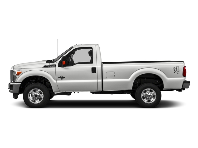 Oxford White 2016 Ford Super Duty F-350 DRW Pictures Super Duty F-350 DRW Regular Cab XLT 2WD photos side view