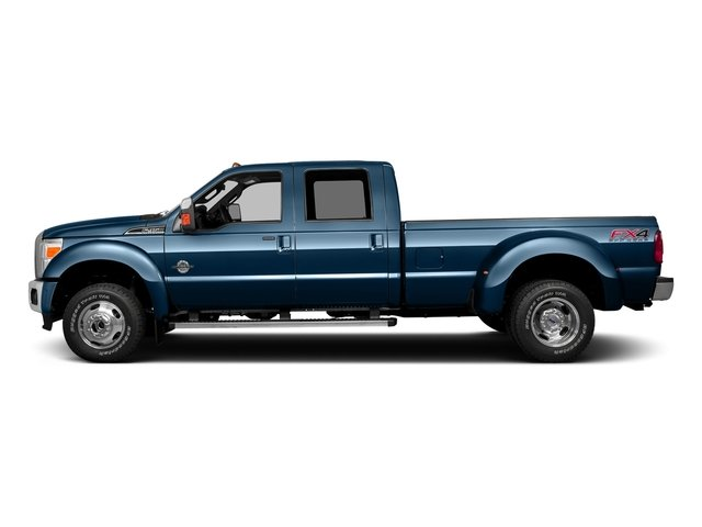 Blue Jeans Metallic 2016 Ford Super Duty F-350 DRW Pictures Super Duty F-350 DRW Crew Cab Lariat 4WD photos side view