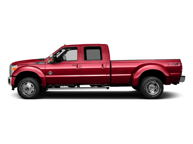 Race Red 2016 Ford Super Duty F-350 DRW Pictures Super Duty F-350 DRW Crew Cab XL 2WD photos side view