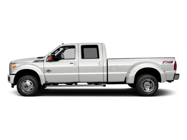 White Platinum Metallic Tri-Coat 2016 Ford Super Duty F-350 DRW Pictures Super Duty F-350 DRW Crew Cab Platinum 4WD photos side view