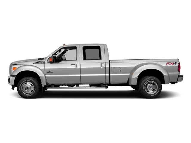 Ingot Silver Metallic 2016 Ford Super Duty F-350 DRW Pictures Super Duty F-350 DRW Crew Cab XL 2WD photos side view