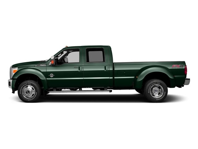 Green Gem Metallic 2016 Ford Super Duty F-350 DRW Pictures Super Duty F-350 DRW Crew Cab XL 2WD photos side view