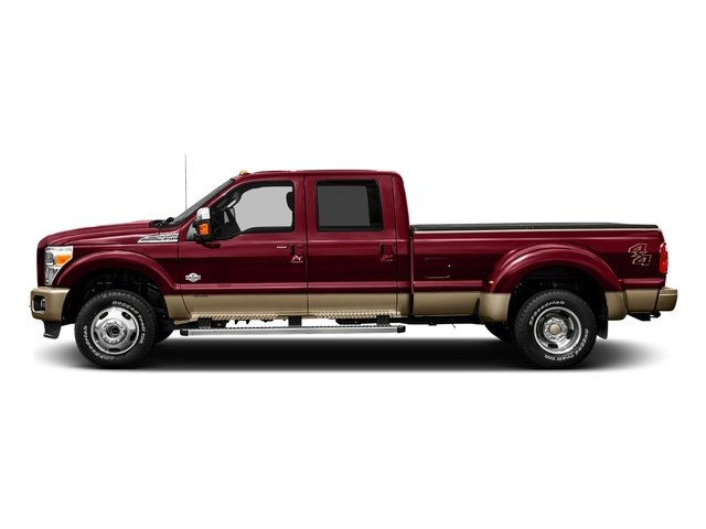 Ruby Red Metallic Tinted Clearcoat 2016 Ford Super Duty F-450 DRW Pictures Super Duty F-450 DRW Crew Cab King Ranch 4WD T-Diesel photos side view