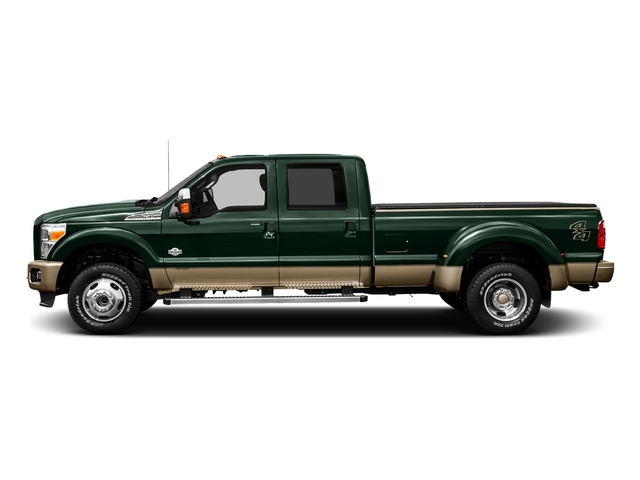 Green Gem Metallic 2016 Ford Super Duty F-450 DRW Pictures Super Duty F-450 DRW Crew Cab King Ranch 4WD T-Diesel photos side view