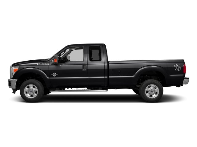 Shadow Black 2016 Ford Super Duty F-350 DRW Pictures Super Duty F-350 DRW Supercab XLT 2WD photos side view