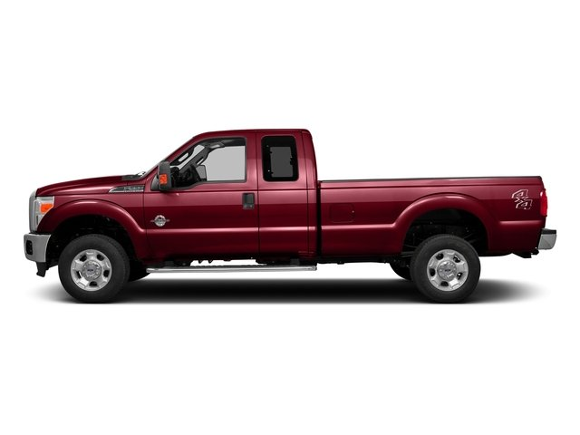 Ruby Red Metallic Tinted Clearcoat 2016 Ford Super Duty F-350 DRW Pictures Super Duty F-350 DRW Supercab XLT 2WD photos side view