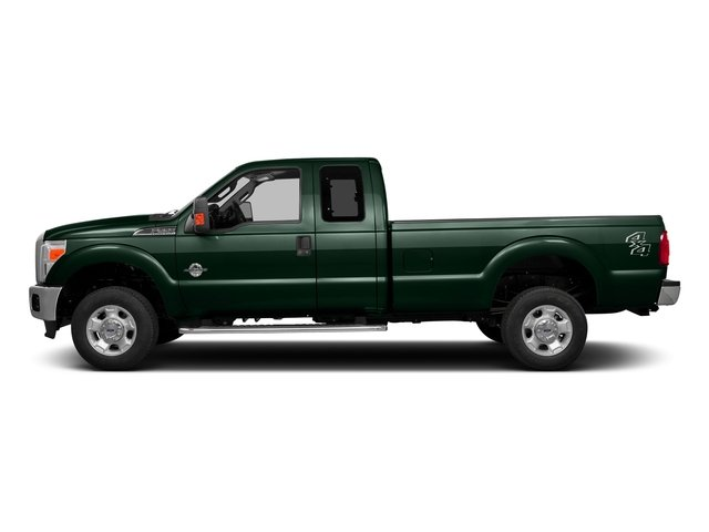 Green Gem Metallic 2016 Ford Super Duty F-350 DRW Pictures Super Duty F-350 DRW Supercab XLT 4WD photos side view