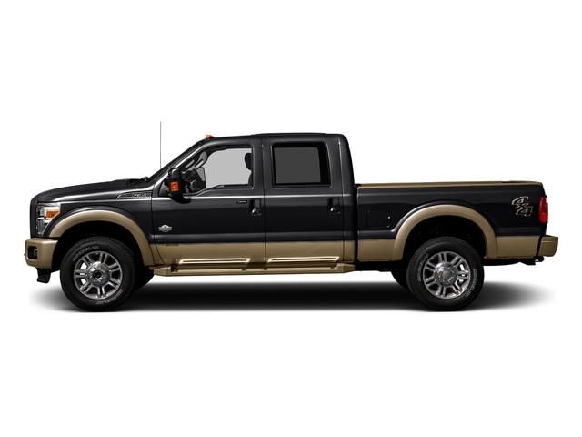Shadow Black 2016 Ford Super Duty F-250 SRW Pictures Super Duty F-250 SRW Crew Cab King Ranch 2WD photos side view