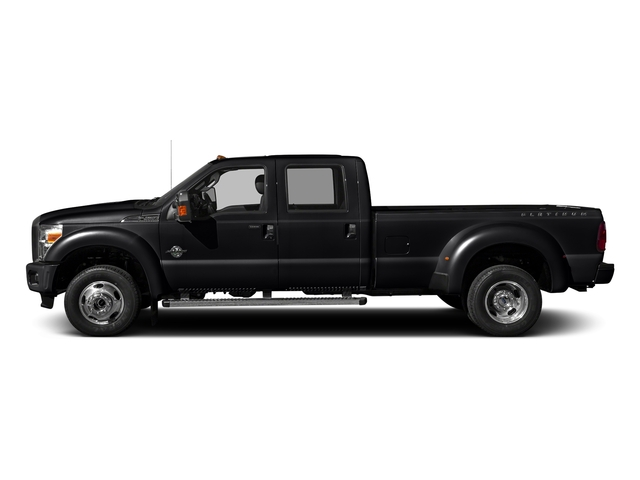 Shadow Black 2016 Ford Super Duty F-450 DRW Pictures Super Duty F-450 DRW Crew Cab Platinum 4WD T-Diesel photos side view