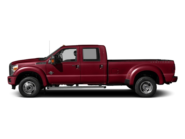 Ruby Red Metallic Tinted Clearcoat 2016 Ford Super Duty F-450 DRW Pictures Super Duty F-450 DRW Crew Cab Platinum 4WD T-Diesel photos side view