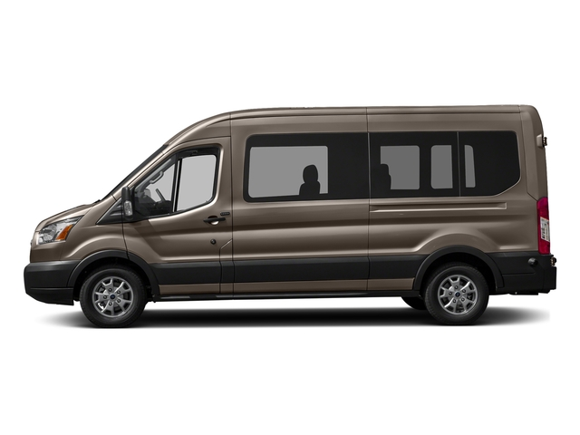 Caribou Metallic 2016 Ford Transit Wagon Pictures Transit Wagon Passenger Van XL Medium Roof photos side view