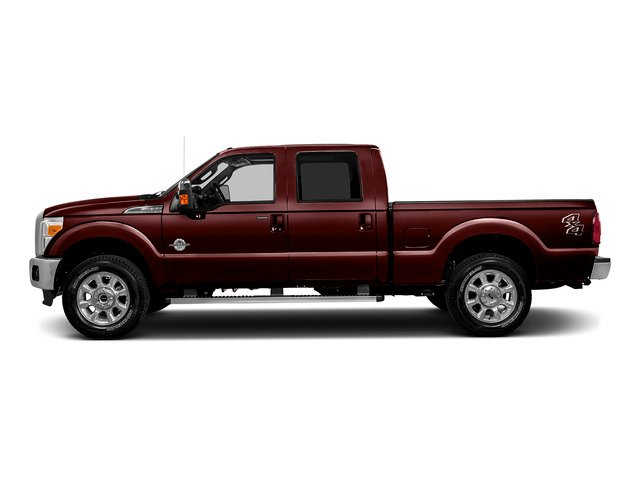 Bronze Fire Metallic 2016 Ford Super Duty F-250 SRW Pictures Super Duty F-250 SRW Crew Cab Lariat 2WD photos side view