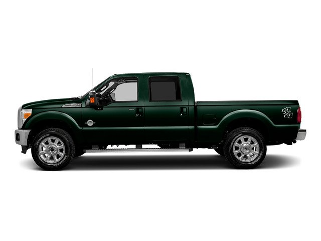 Green Gem Metallic 2016 Ford Super Duty F-250 SRW Pictures Super Duty F-250 SRW Crew Cab Lariat 2WD photos side view