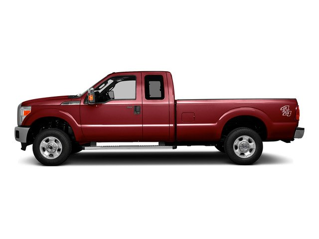 Ruby Red Metallic Tinted Clearcoat 2016 Ford Super Duty F-250 SRW Pictures Super Duty F-250 SRW Supercab XLT 2WD photos side view