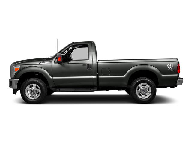 Magnetic Metallic 2016 Ford Super Duty F-250 SRW Pictures Super Duty F-250 SRW Regular Cab XL 2WD photos side view