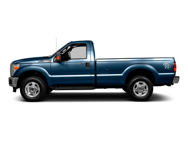 Blue Jeans Metallic 2016 Ford Super Duty F-250 SRW Pictures Super Duty F-250 SRW Regular Cab XL 2WD photos side view