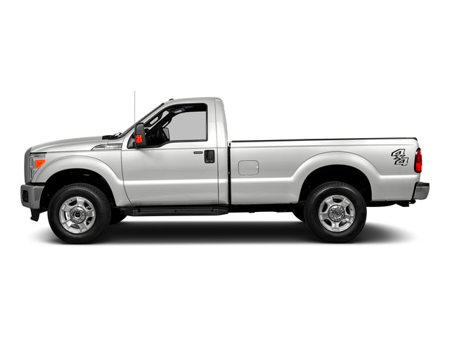 Oxford White 2016 Ford Super Duty F-250 SRW Pictures Super Duty F-250 SRW Regular Cab XL 2WD photos side view