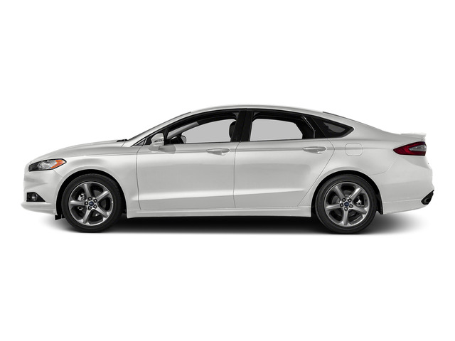 Oxford White 2016 Ford Fusion Pictures Fusion Sedan 4D SE EcoBoost 2.0L I4 photos side view