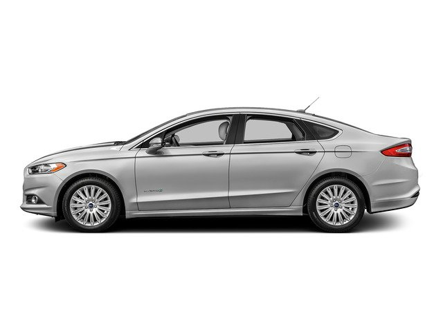 Ingot Silver 2016 Ford Fusion Pictures Fusion Sedan 4D S I4 Hybrid photos side view