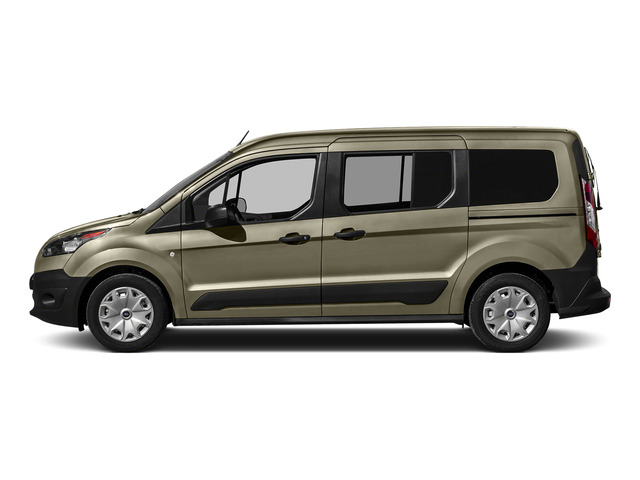Tectonic Silver Metallic 2016 Ford Transit Connect Wagon Pictures Transit Connect Wagon Extended Passenger Van XL photos side view