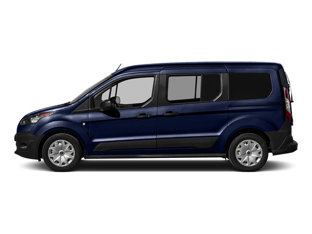 Deep Impact Blue Metallic 2016 Ford Transit Connect Wagon Pictures Transit Connect Wagon Extended Passenger Van XLT photos side view