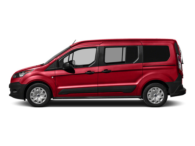 Race Red 2016 Ford Transit Connect Wagon Pictures Transit Connect Wagon Extended Passenger Van XLT photos side view