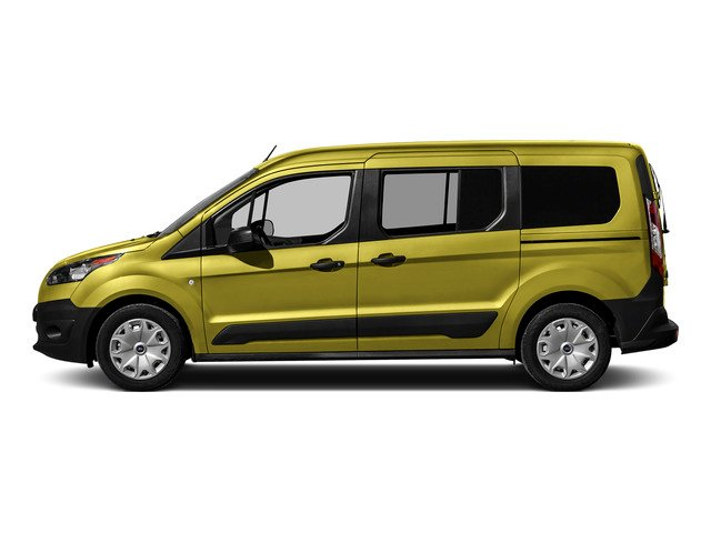 Solar Metallic 2016 Ford Transit Connect Wagon Pictures Transit Connect Wagon Extended Passenger Van XLT photos side view