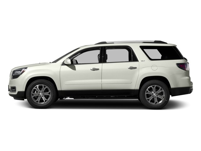 White Frost Tricoat 2016 GMC Acadia Pictures Acadia Utility 4D SLT AWD V6 photos side view