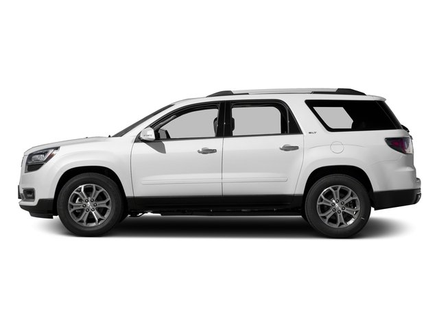 Summit White 2016 GMC Acadia Pictures Acadia Utility 4D SLT AWD V6 photos side view