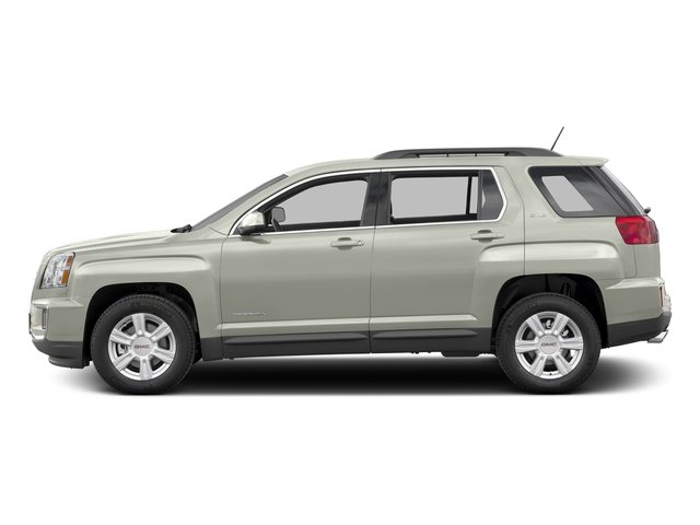 White Frost Tricoat 2016 GMC Terrain Pictures Terrain Utility 4D SLE2 2WD photos side view