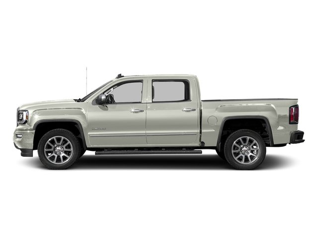 White Frost Tricoat 2016 GMC Sierra 1500 Pictures Sierra 1500 Crew Cab Denali 2WD photos side view