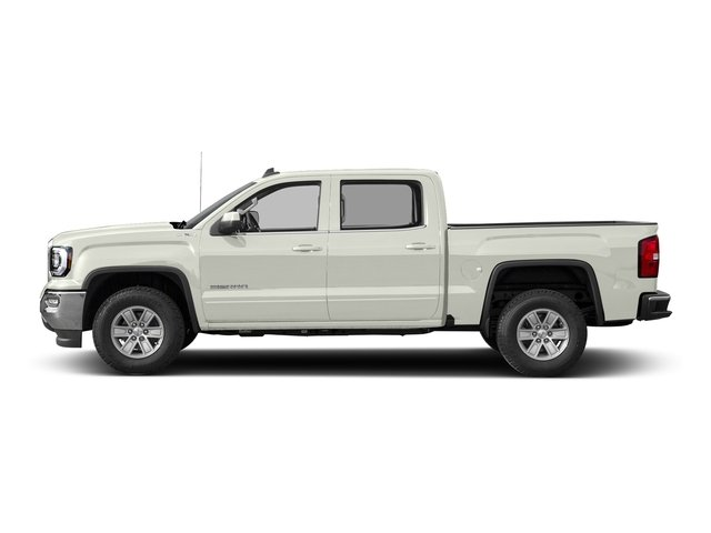 White Frost Tricoat 2016 GMC Sierra 1500 Pictures Sierra 1500 Crew Cab SLE 2WD photos side view