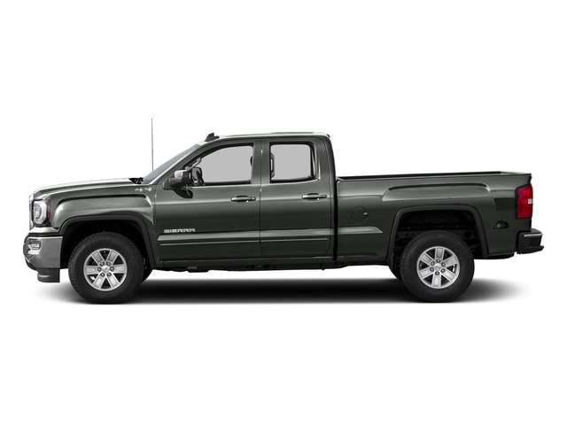Light Steel Gray Metallic 2016 GMC Sierra 1500 Pictures Sierra 1500 Extended Cab SLE 4WD photos side view