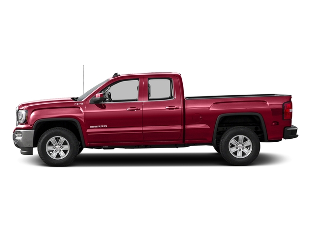Crimson Red Tintcoat 2016 GMC Sierra 1500 Pictures Sierra 1500 Extended Cab SLE 4WD photos side view