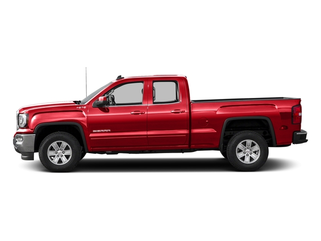 Cardinal Red 2016 GMC Sierra 1500 Pictures Sierra 1500 Extended Cab SLE 4WD photos side view