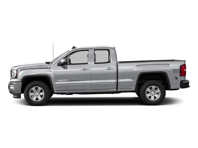 Quicksilver Metallic 2016 GMC Sierra 1500 Pictures Sierra 1500 Extended Cab SLE 4WD photos side view