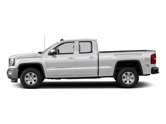 Summit White 2016 Gmc Sierra 1500 Pictures Extended Cab Sle 4wd Photos Side View