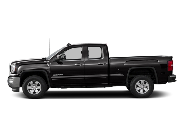 Onyx Black 2016 GMC Sierra 1500 Pictures Sierra 1500 Extended Cab SLE 4WD photos side view