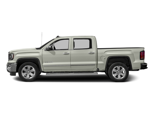White Frost Tricoat 2016 GMC Sierra 1500 Pictures Sierra 1500 Crew Cab SLT 2WD photos side view