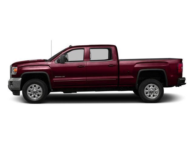 Deep Garnet Metallic 2016 GMC Sierra 3500HD Pictures Sierra 3500HD Crew Cab 2WD photos side view