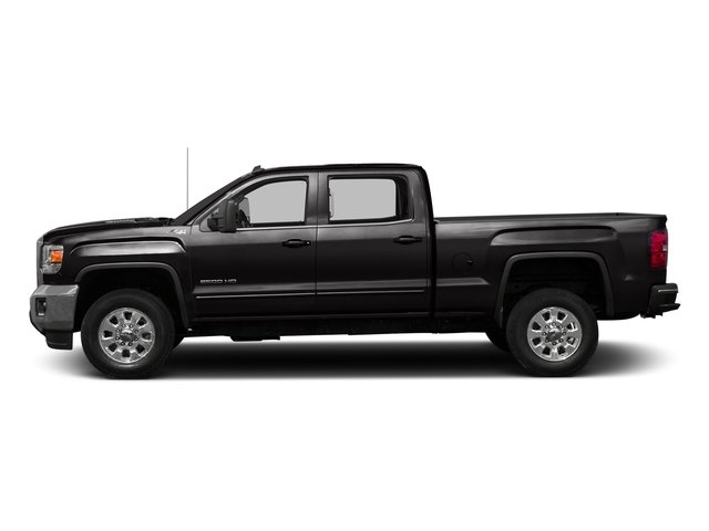 Onyx Black 2016 GMC Sierra 3500HD Pictures Sierra 3500HD Crew Cab 2WD photos side view