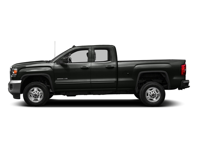 Light Steel Gray Metallic 2016 GMC Sierra 2500HD Pictures Sierra 2500HD Extended Cab SLT 2WD photos side view
