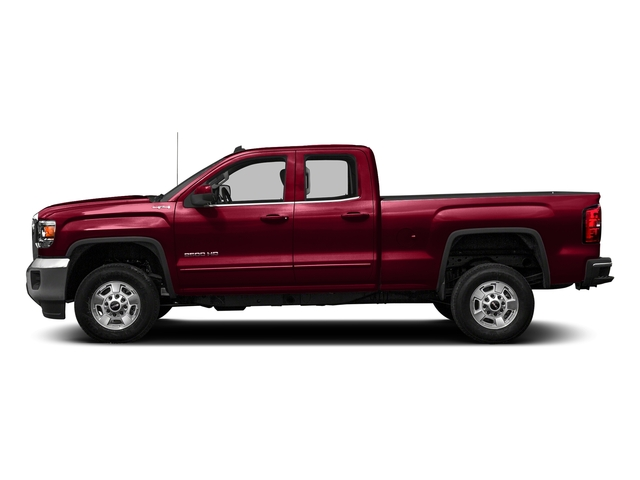 Crimson Red Tintcoat 2016 GMC Sierra 2500HD Pictures Sierra 2500HD Extended Cab SLE 4WD photos side view