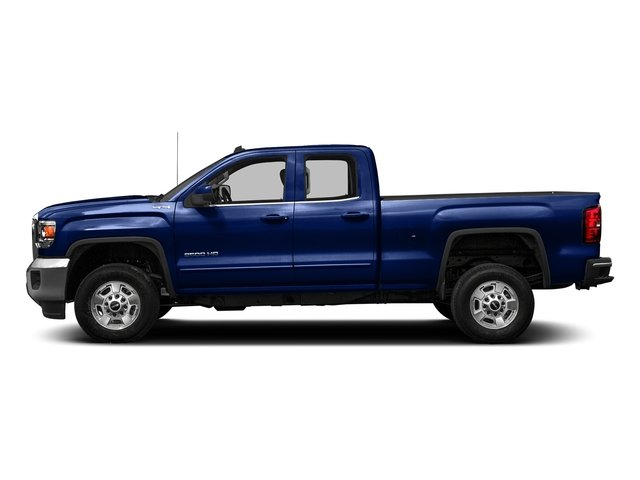 Stone Blue Metallic 2016 GMC Sierra 2500HD Pictures Sierra 2500HD Extended Cab SLE 4WD photos side view