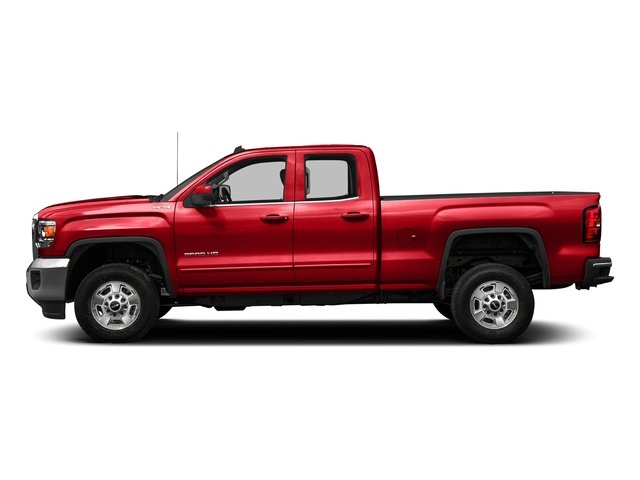 Cardinal Red 2016 GMC Sierra 2500HD Pictures Sierra 2500HD Extended Cab SLE 4WD photos side view