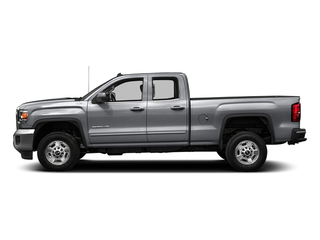 Quicksilver Metallic 2016 GMC Sierra 2500HD Pictures Sierra 2500HD Extended Cab SLE 4WD photos side view